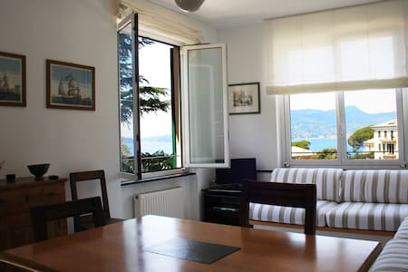 Zoagli: lovely maisonette apartment - Zoagli