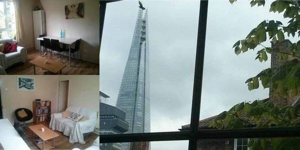 Bright room Zone 1 flat Shard view - London - Apartment