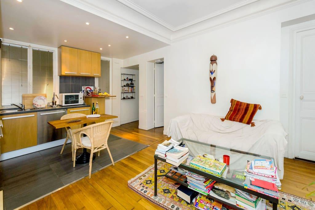 Chambre dans appartement 60m2 xix appartements louer for Chambre 60m2