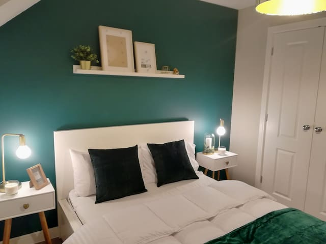 Modern double room in charming new house