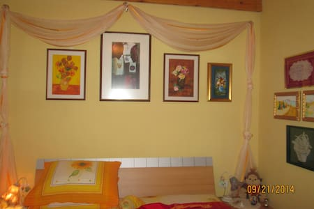 ROMANTIC HOUSE VIEW GARDEN PEACE - Črni Kal - บ้าน