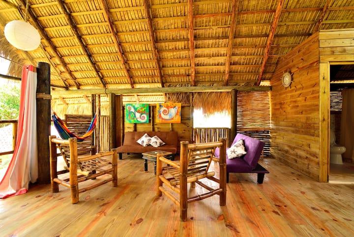 Cabarete eco lodge  on private beach 50+ guests