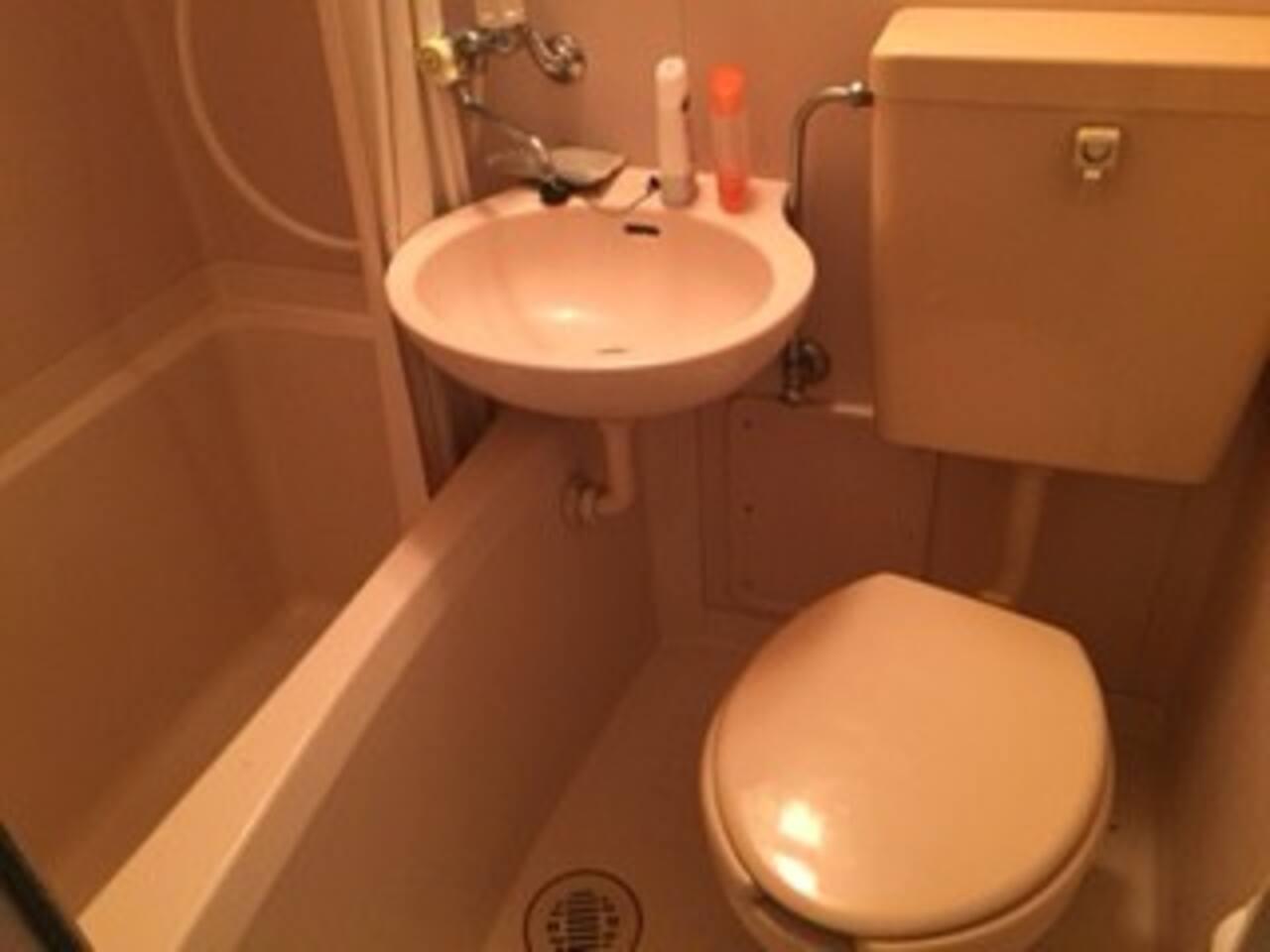 専用バス・トイレ・シャワー