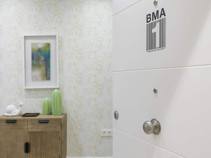 BMA1 by Forever Rentals. Accessible 1bedroom apartment. Air conditioning. Wifi