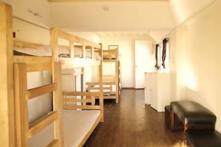 YB Hostel 4 bed female dormitory