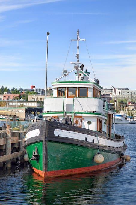 Tugboat Sally S
