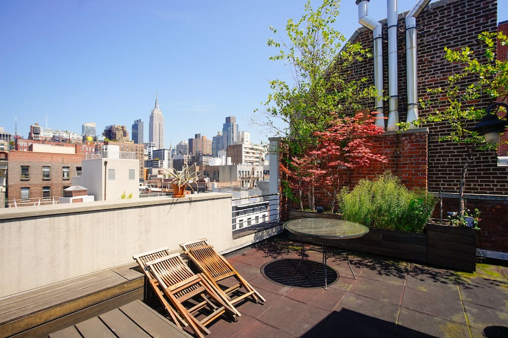 Spacious chelsea penthouse w roof flats for rent in new for New york penthouse rent