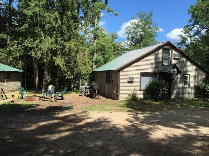 Pere Marquette Lumberjack Cabin