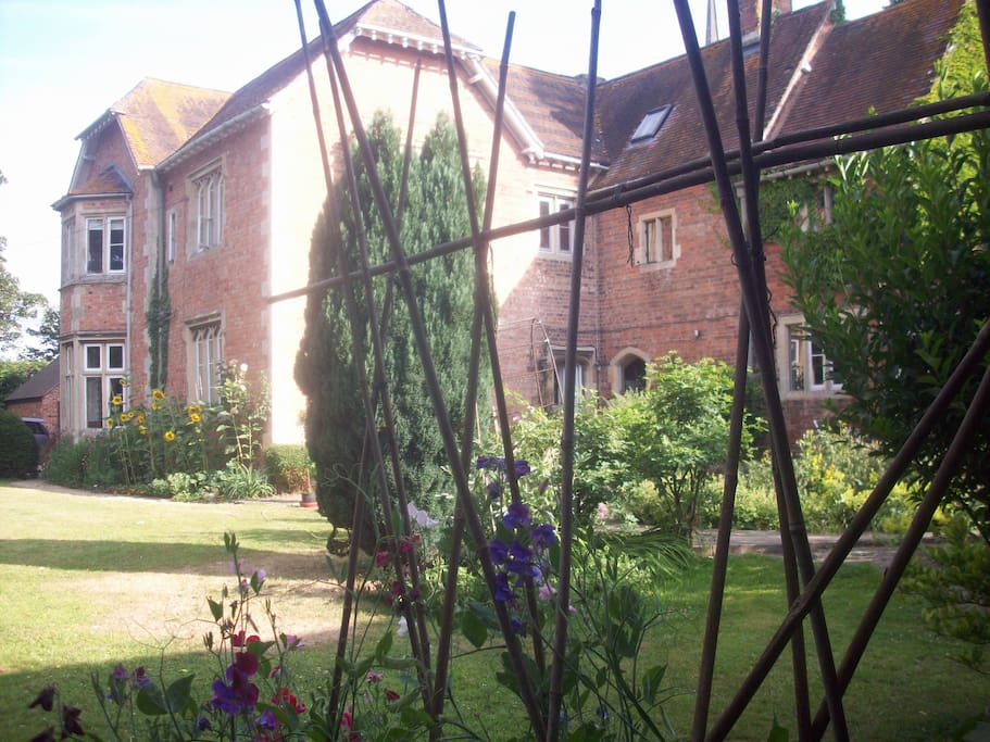 The Old Rectory and garden