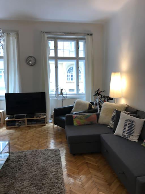 sch ne altbauwohnung 4 minuten zum stephansplatz appartements louer vienne wien autriche. Black Bedroom Furniture Sets. Home Design Ideas