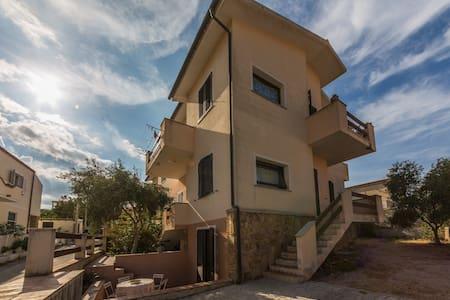 Moneta's house - between Caprera and La maddalena