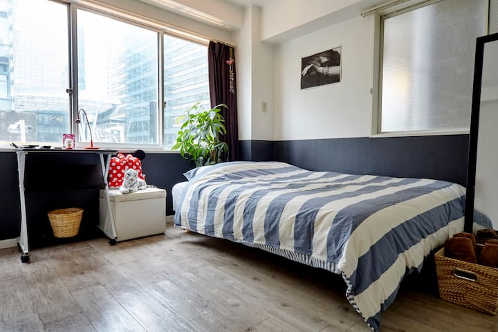 Roppongi 2min stylish and cozy room Great access!! - Minato-ku - Leilighet