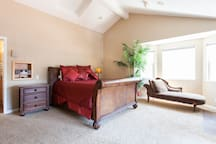 The Master Bedroom is spacious and inviting
