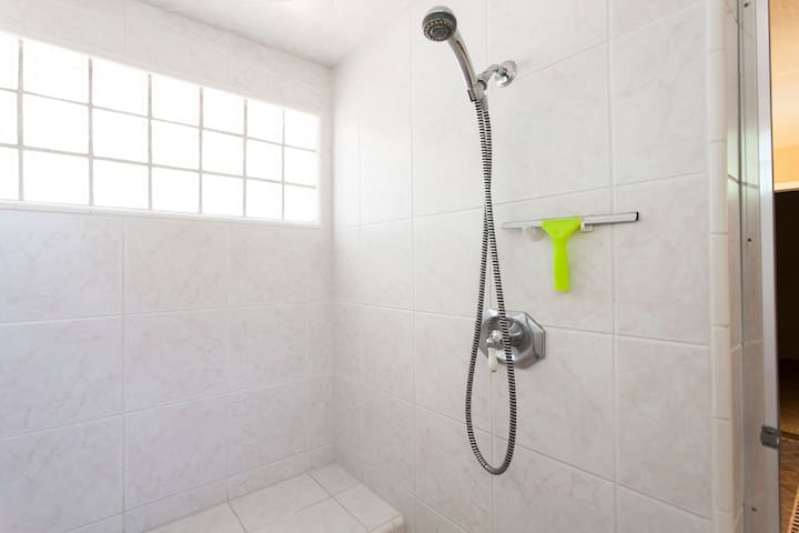 Huge Steam Shower in the Master Suite