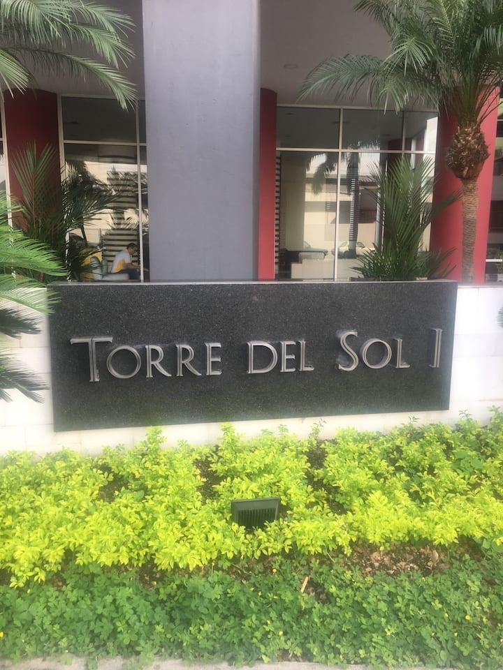 Depto. de 2 dormitorios full equipado en Guayaquil