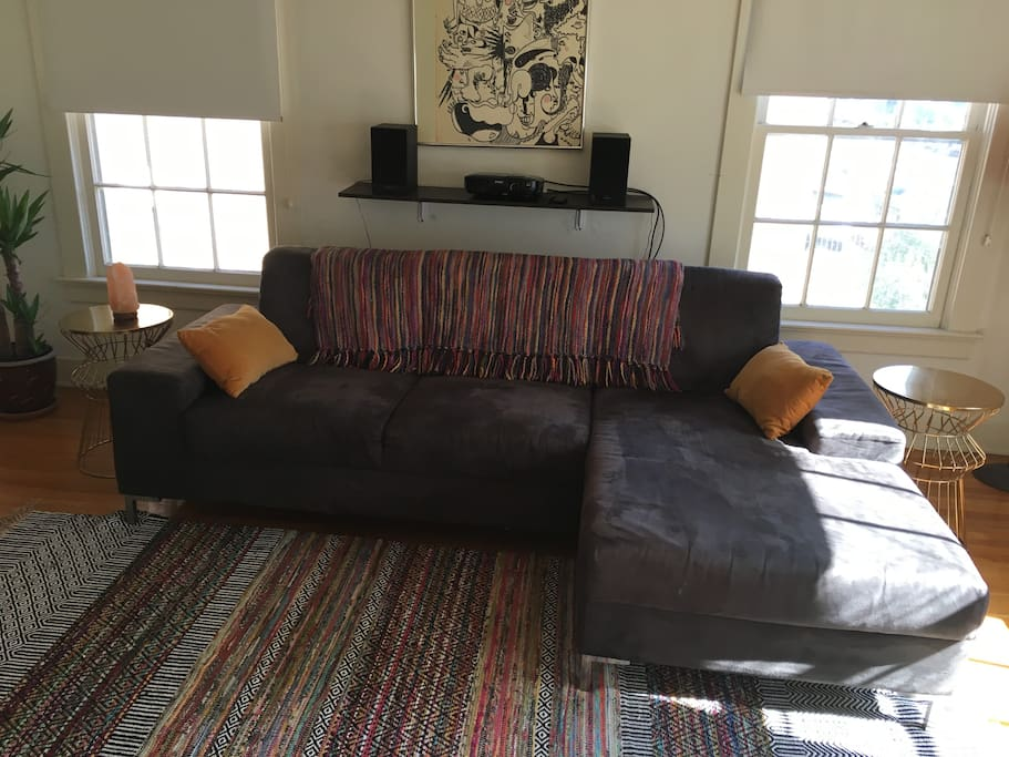 Spacious Couch
