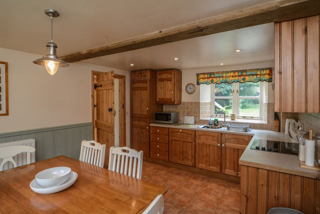 Large farmhouse kitchen