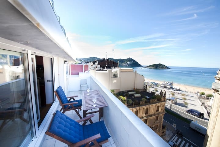 Niza | La Concha, WiFi - San Sebastián - Appartement