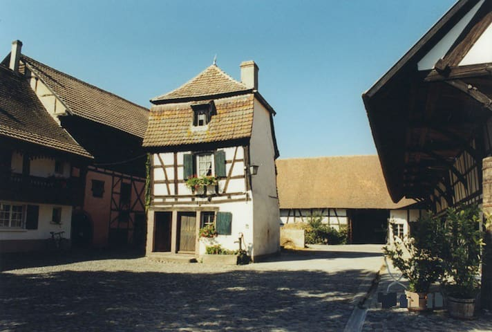 Chambre dans maison alsacienne rénovée - Andolsheim - Talo