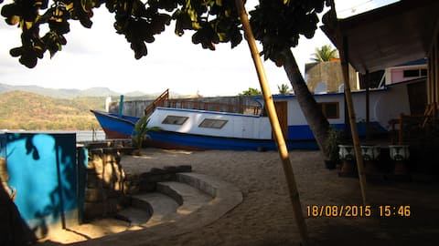 Beach Front Boat House