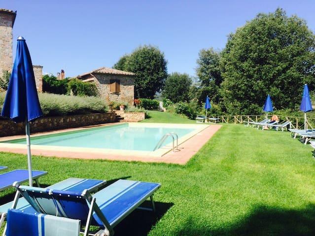 Country Siena Green Cottage Lampone - Monteriggioni - Appartement