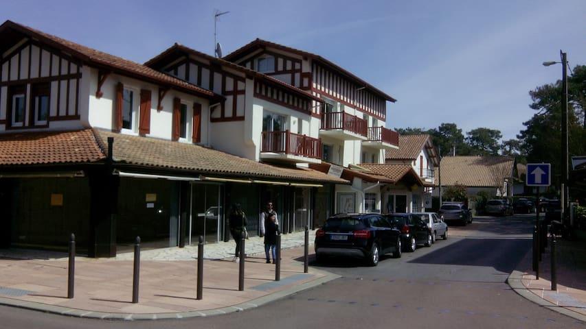 Hossegor Centre, appart 2 chambres terrasses SUD - Soorts-Hossegor - Flat