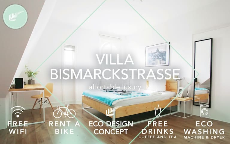 Green Residence City Villa Room # 1 - Offenbach - Apartment