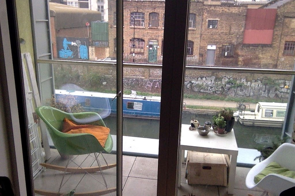 Balcony on the Regents Canal