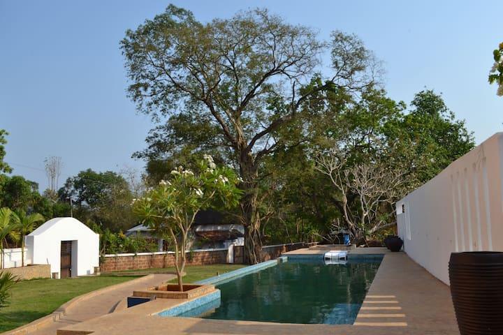 Casa Frangipani in Aldona Village - Aldona - Villa