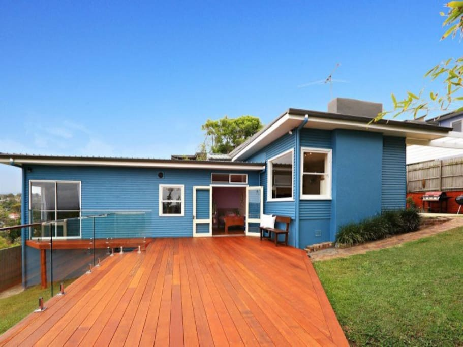 Renovated beach house....