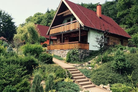 Charming chalet, 3BD, 2BT, kitchen - Chalet