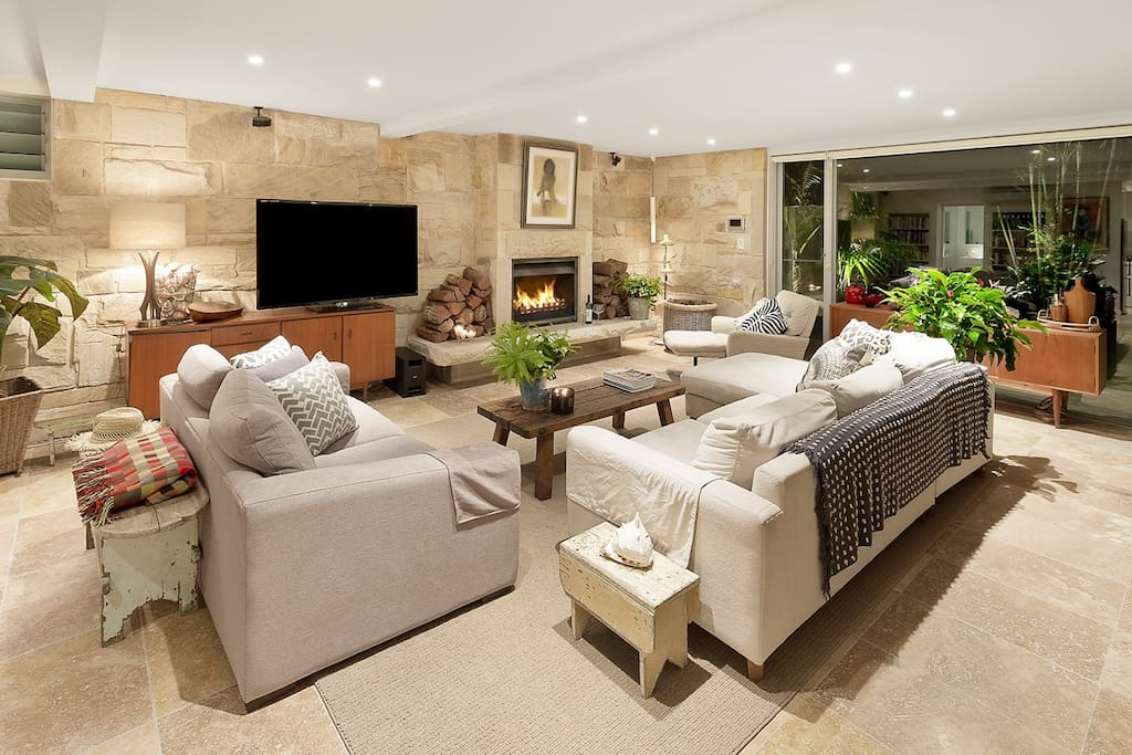 Living area space.
