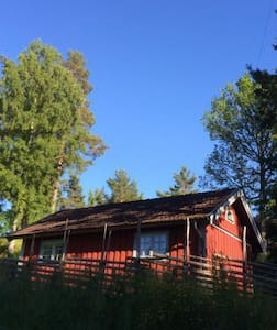 Cosy cottage with nice lakeview. - Öland - Cabana