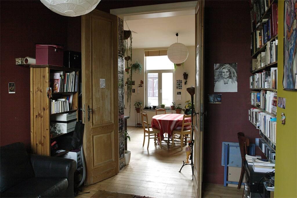 Appart plein sud terrasse plantes appartements louer saint gilles - Appart a louer amsterdam ...