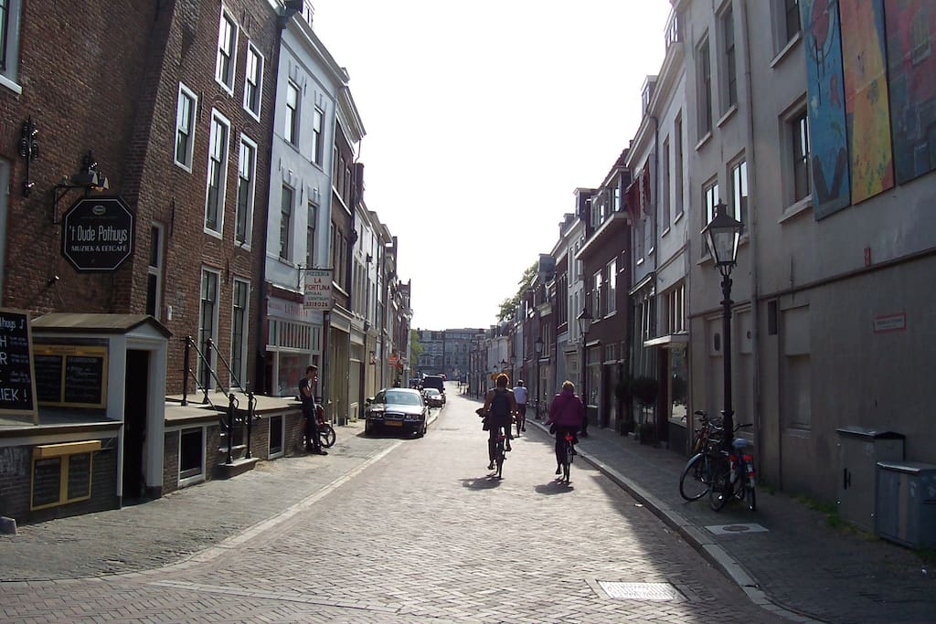 This is the street the apartment is on.