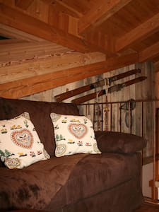 Mansarda Chalet style in Morgex MontBlanc - Morgex - Apartment
