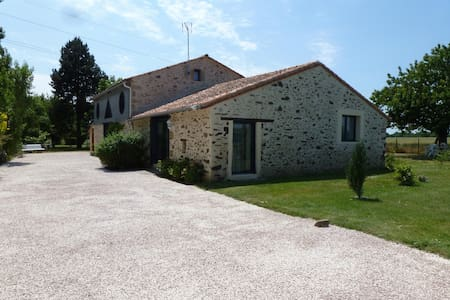 Gîte rural 8 à 10 pers. 160 m² - Les Cerqueux-Sous-Passavant - 独立屋