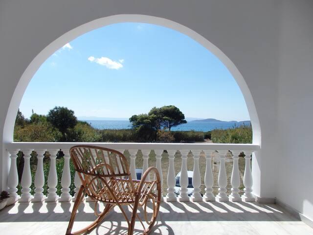 Villa am Meer nahe beim Strand