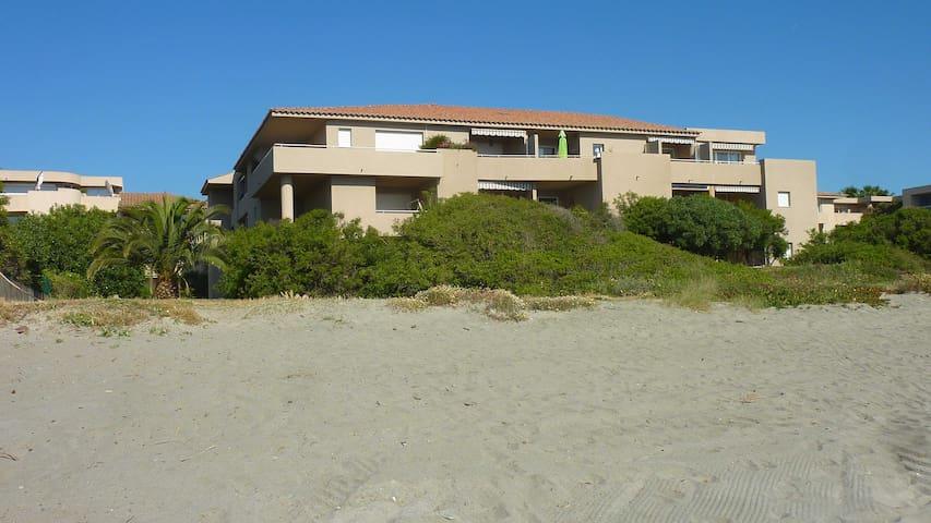Appartement sur la plage, 3 étoiles - Santa-Lucia-di-Moriani