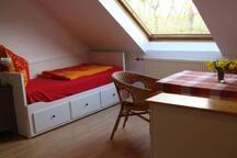 Tagesbett im Appartement(0,80mx2,00m)