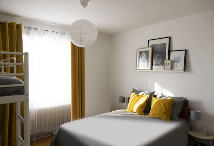 Chambre 1 - lit adulte
