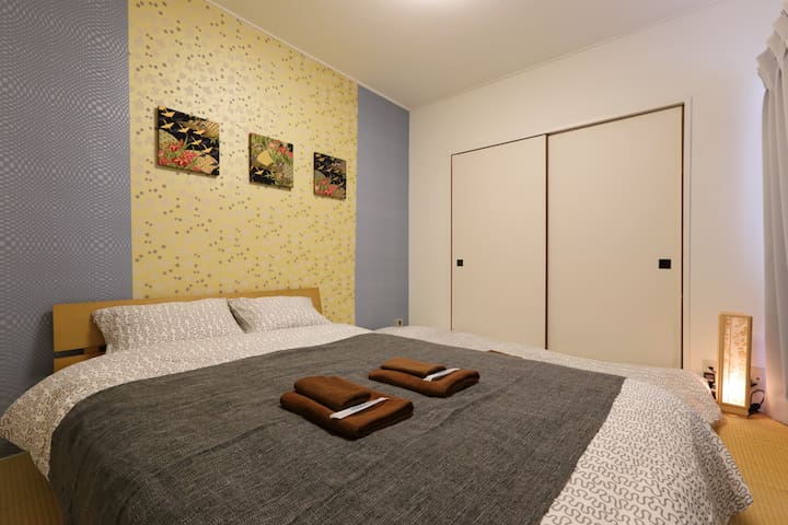 61.New open!Shinagawa10min/Haneda/Wifi/Max3 - Minato-ku - Appartement