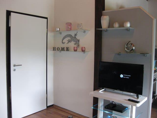 Sweet Home (Ronshausen) -, Ferienhaus Sweet Home, 42qm, 1 Schlafzimmer, 1 Wohnzimmer, Terrasse, max. 2 Personen