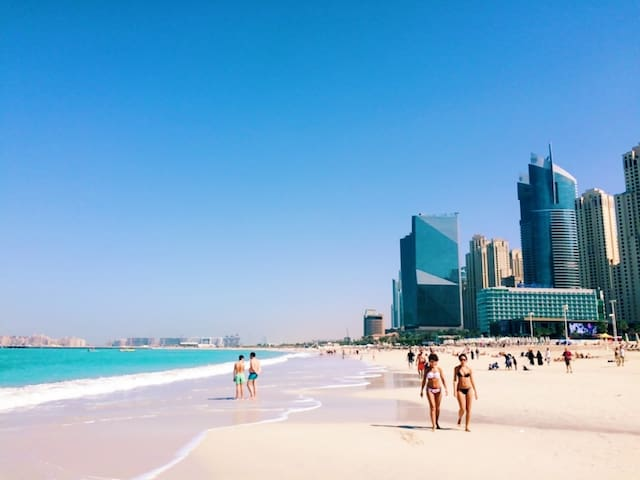 Beach+Pool+Tram |  Amazing view | JBR