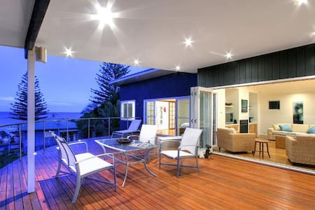 Luxury waterfront house with easy access to beach - Macmasters Beach - Hus