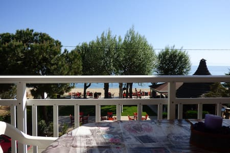 Flogita Beach Σπίτι με θέα