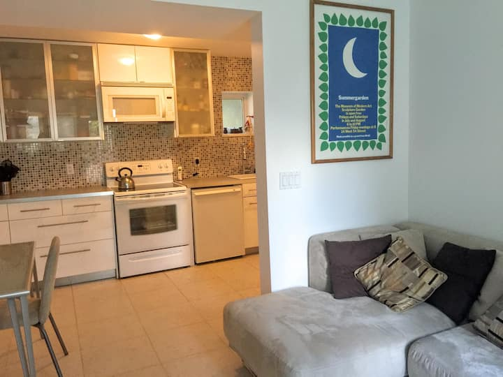 One Bedroom Suite 8Km-10min from DT
