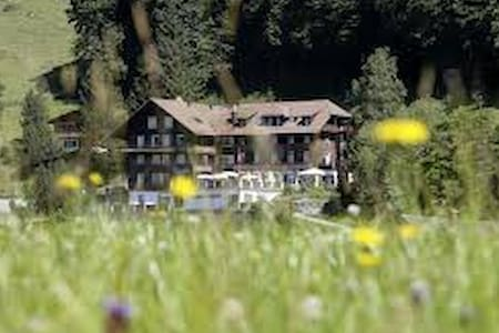 Typical Swiss boutique accommodation