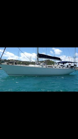Caribbean yacht located in Antigua - Portsmouth  - Boot