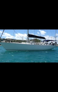 Caribbean yacht located in Antigua